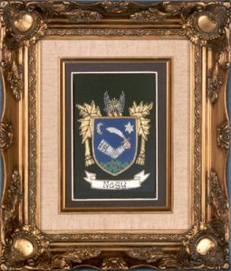 Blazer Badge - with frame