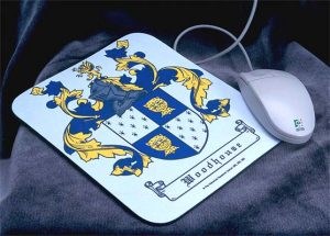 Coat of Arms Mousepad