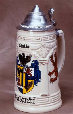 Hand Painted Stein